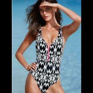 VICTORIAS SECRET Geo one piece swimsuit